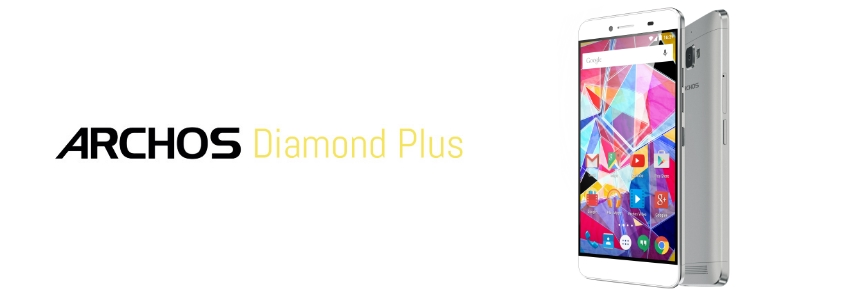 #IFA2015 - Archos enrichit sa gamme de smartphones avec le Diamond Plus