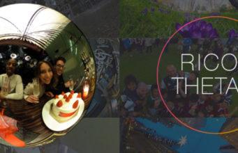 Ricoh Theta S, la nouvelle caméra 360°