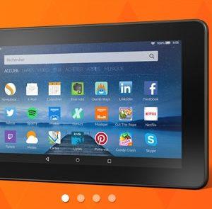 Amazon officialise une tablette Fire à moins de 60 €