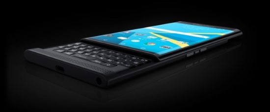 BlackBerry : le smartphone Priv se dévoile en photos