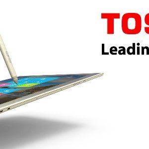 """Toshiba Dynapad : la tablette 12"""" la plus fine et la plus légère au monde"""