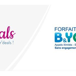 [Bon Plan] Bouygues Telecom : le forfait B&You 24/24 (Appels/SMS/MMS illimités) à 1€/mois au lieu de 10,99€ pendant 1 an