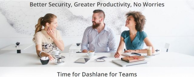 Dashlane lance une solution pour les entreprises : Dashlane for business