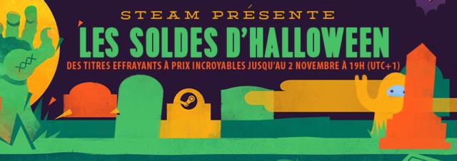 Steam fête Halloween avec de belles promotions