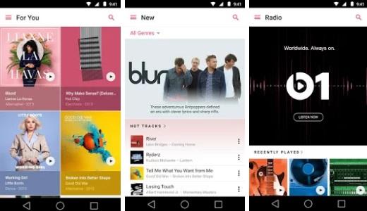 Apple Music fait ses débuts sur Android