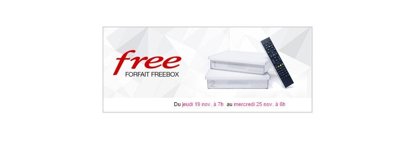 free propose une nouvelle offre freebox sur vente unsimpleclic. Black Bedroom Furniture Sets. Home Design Ideas