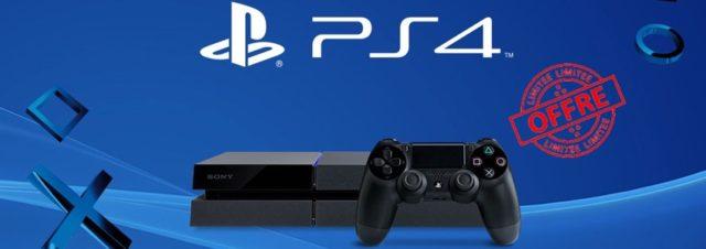 La PS4 est à 299€ sur Amazon jusqu'au 20 décembre [Bon plan]