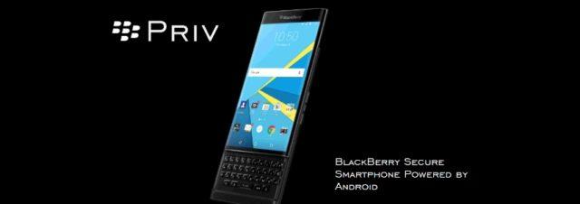 Le BlackBerry Priv est disponible en France