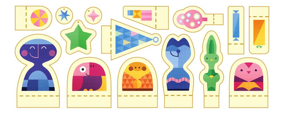Google vous souhaite de joyeuses fêtes ! [#Doodle]