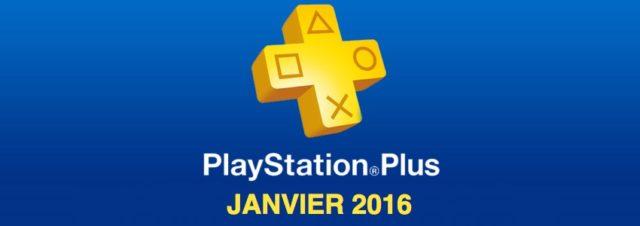 Playstation Plus : les jeux offerts du mois de janvier 2016