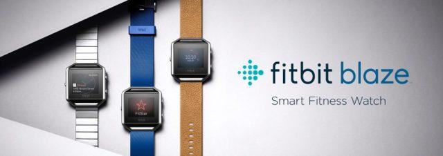#CES2016 - Fitbit dévoile sa montre Fitbit Blaze