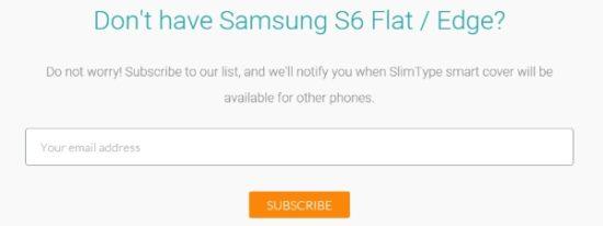 #CES2016 - SlimType : l'étui ingénieux pour Samsung Galaxy S6