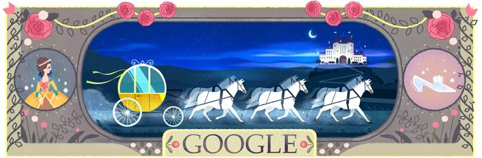 Google fête le 388e anniversaire de la naissance de Charles Perrault [#Doodle]