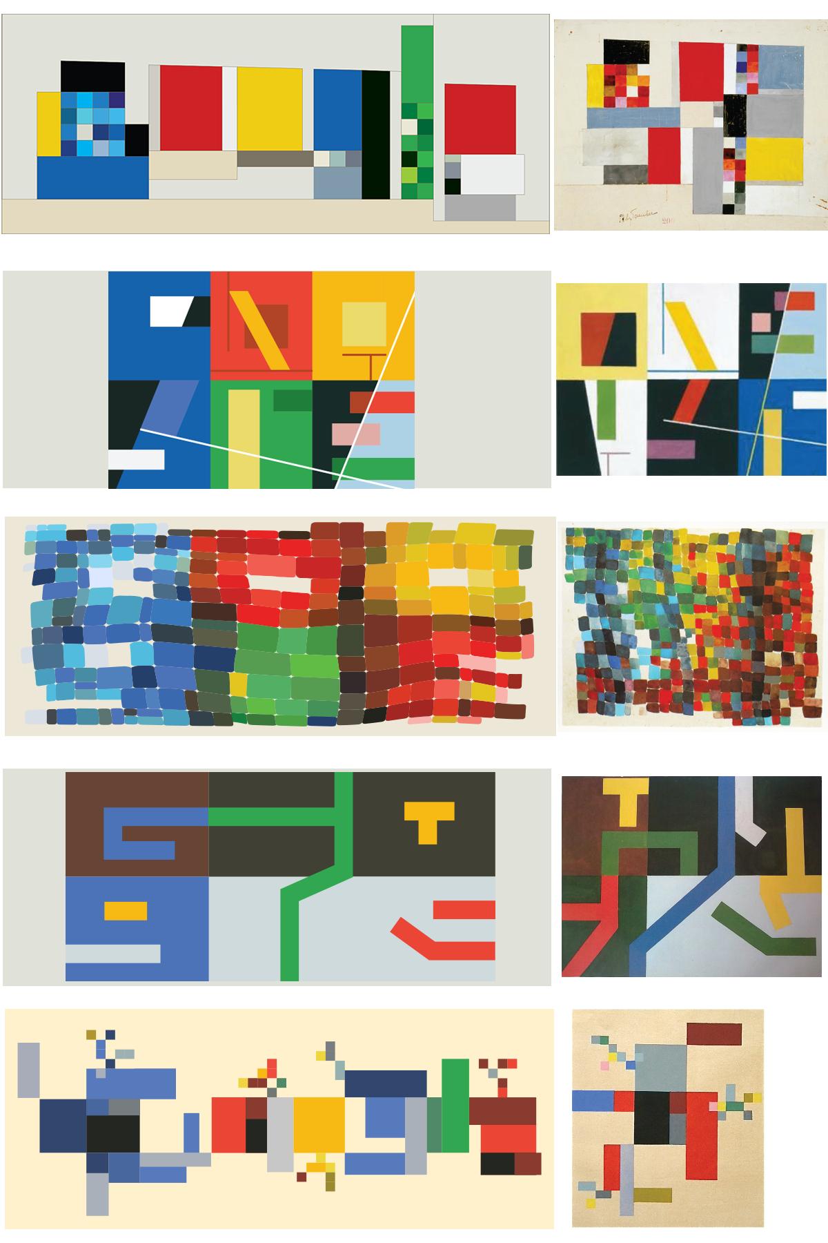 Google fête le 127e anniversaire de Sophie Taeuber-Arp [Doodle]
