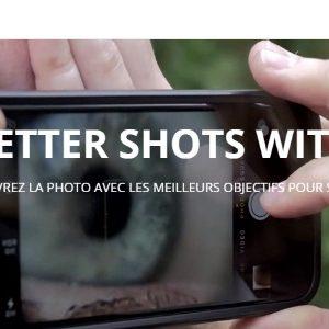 Pixter - Les objectifs pour smartphones et tablettes [Test]