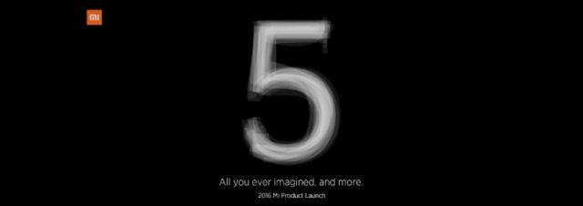 Le Xiaomi Mi 5 sera officiellement présenté le 24 février 2016