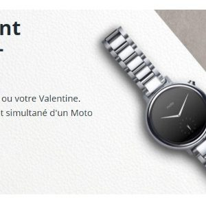 Motorola fête la Saint Valentin avec son Moto G et sa Moto 360