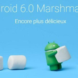 Arrivée de Android 6.0 Marshmallow chez Samsung