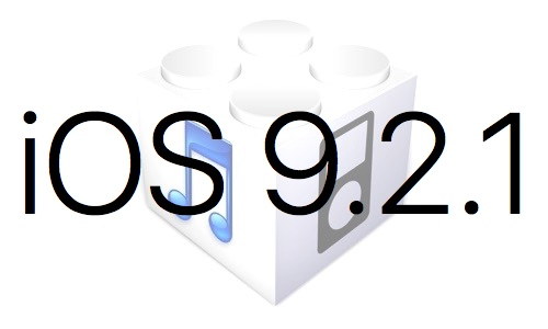 Un nouvel iOS 9.2.1 est disponible contre l'erreur 53