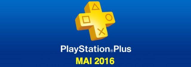 Playstation Plus : les jeux offerts du mois de mai 2016