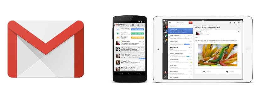 Gmail ajoute le support des comptes Exchange pour tous les mobiles Android