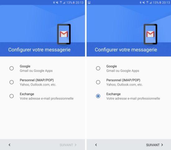 Comment Ajouter Un Compte Exchange Depuis Gmail Sur Android