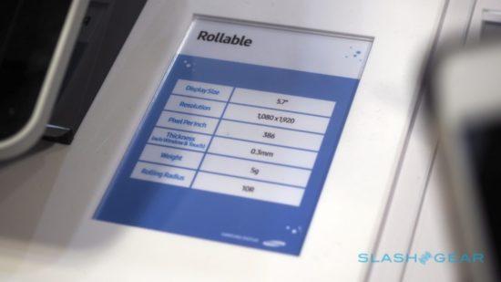 Samsung dévoile un prototype du Galaxy X avec son écran pliable et enroulable