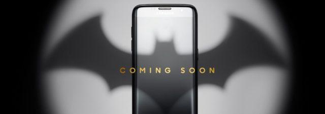 Samsung dévoile un Galaxy S7 Edge Injustice Edition aux couleurs de Batman