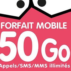 Le MVNO EI Telecom (NRJ Mobile) propose un forfait série limitée 50Go pour 19,99€ par mois