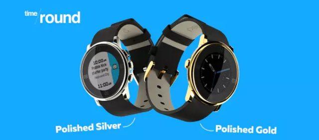 Pebble propose deux éditions limitées de la Pebble Time Round sur KickStarter
