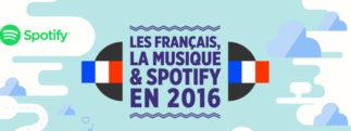 Les français, la musique & Spotify en 2016 [infographie]