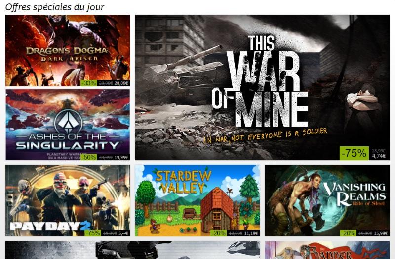 C'est le top départ des soldes d'été Steam !