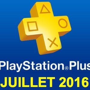 Playstation Plus : les jeux offerts du mois de juillet 2016