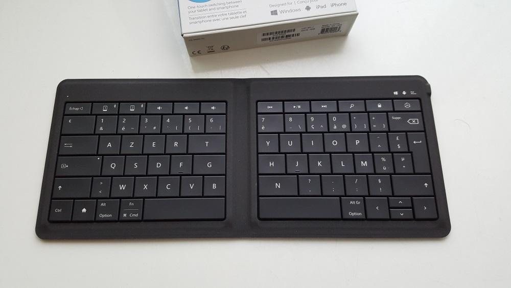 microsoft universal foldable keyboard instructions