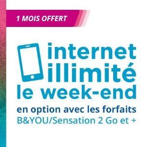 Bouygues Telecom : les week-ends internet illimité deviennent une option