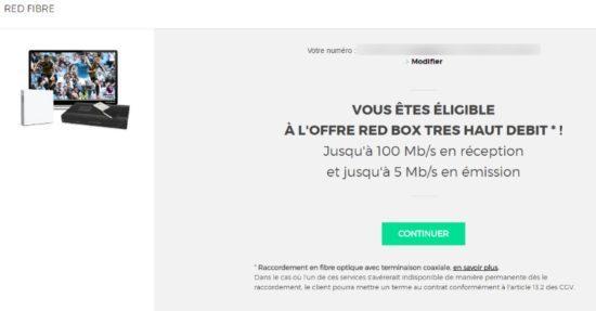 Red by SFR dévoile un forfait Fibre 100Mb/s à 9,99€ par mois pendant 1 an
