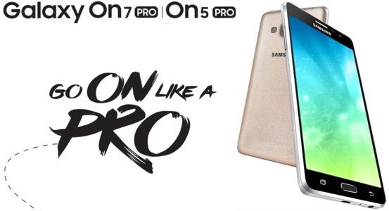 Retour sur les Samsung Galaxy On5 Pro et Galaxy On7 Pro