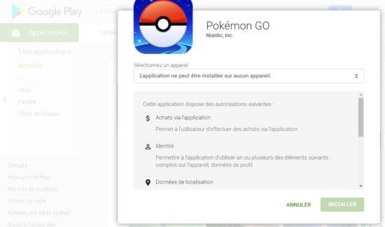 Pokémon GO devrait normalement sortir en France très prochainement