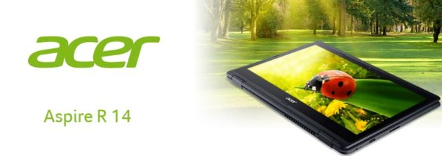 Acer Aspire R14 : un ordinateur convertible de 14