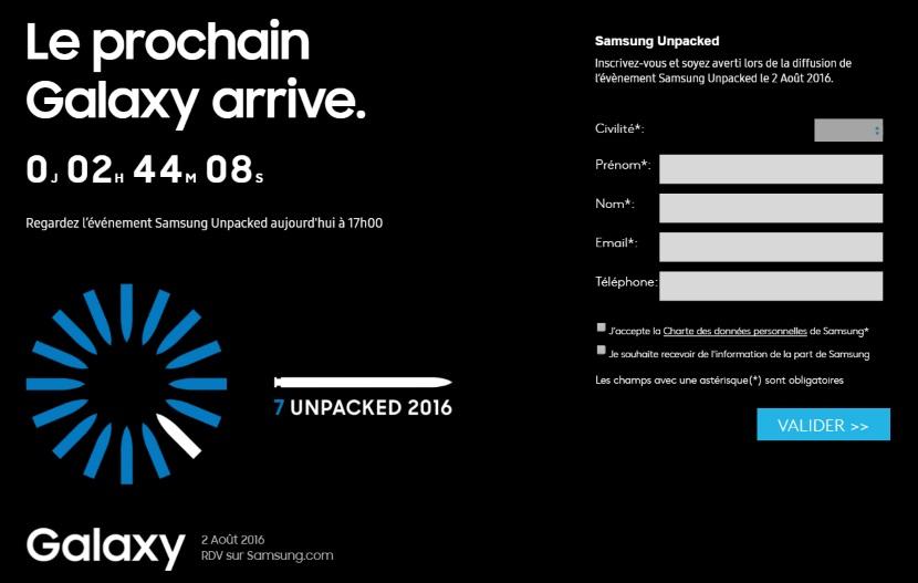 Comment suivre en direct la conférence Samsung Unpacked 2016 ?