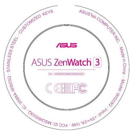 IFA 2016 - Asus devrait présenter sa première montre de forme circulaire