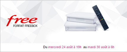 free, freebox, vente privee, freebox crystal