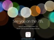 iPhone 7 : Apple officialise la tenue d'une Keynote pour le 7 septembre 2016
