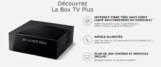 Le très haut débit par La Poste Mobile pour 16,99€ par mois pendant un an