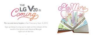 LG présentera son LG V20 le 6 septembre