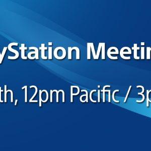 Comment suivre la conférence PlayStation Meeting organisée par Sony ?