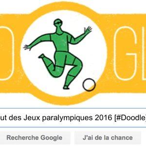 Google fête le Début des Jeux paralympiques 2016 [#Doodle]