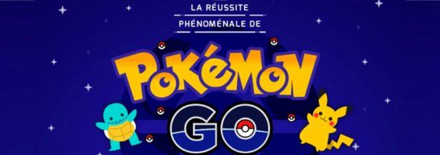 La réussite phénoménale de #PokemonGO [Infographie]