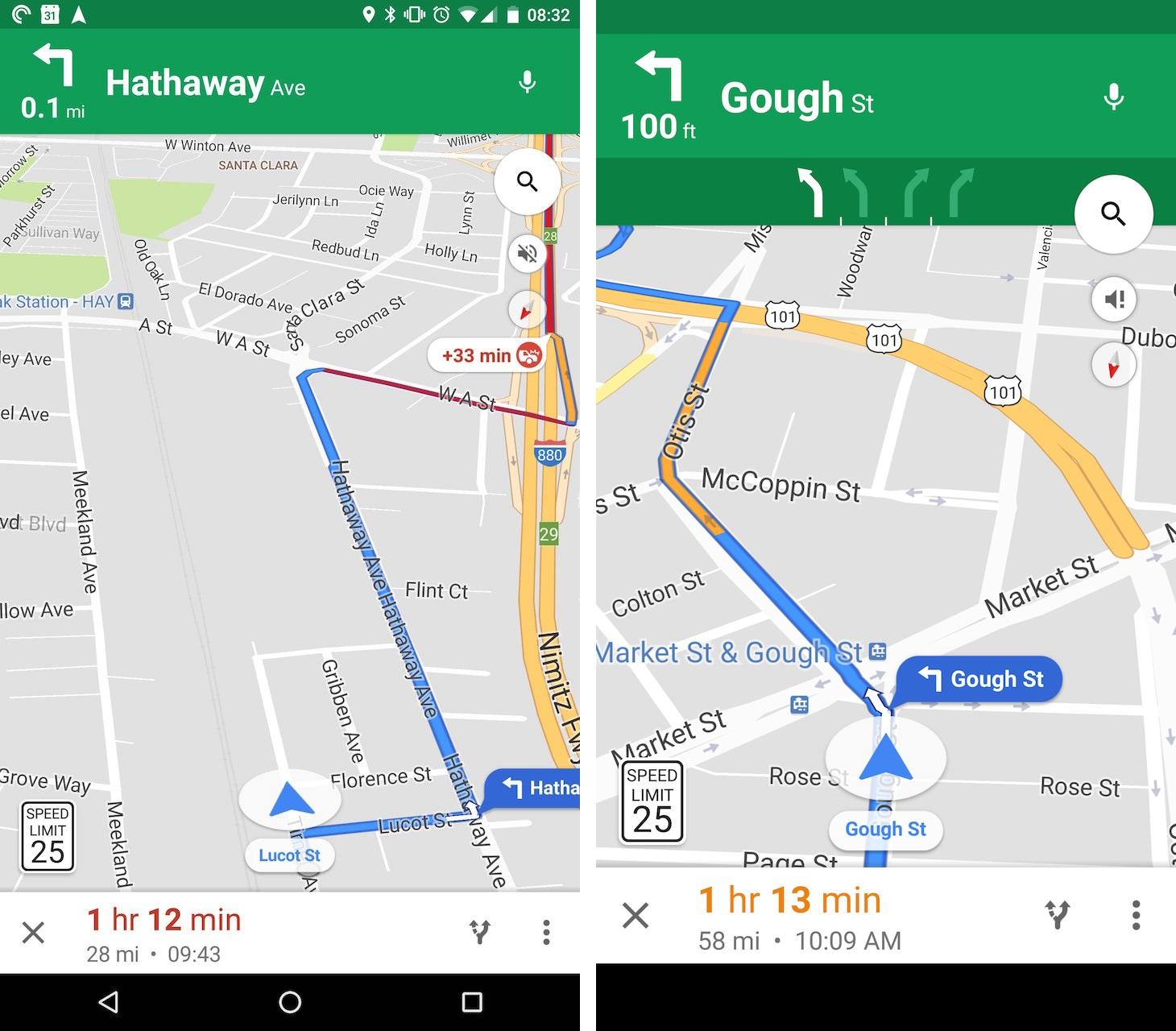 Google Maps : bientôt une indication des limitations de vitesse ? [Brève]