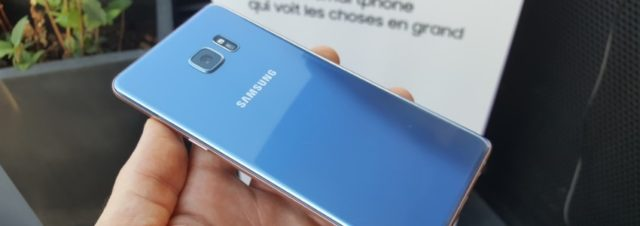 Comment Samsung va remplacer les Galaxy Note7 en France ?